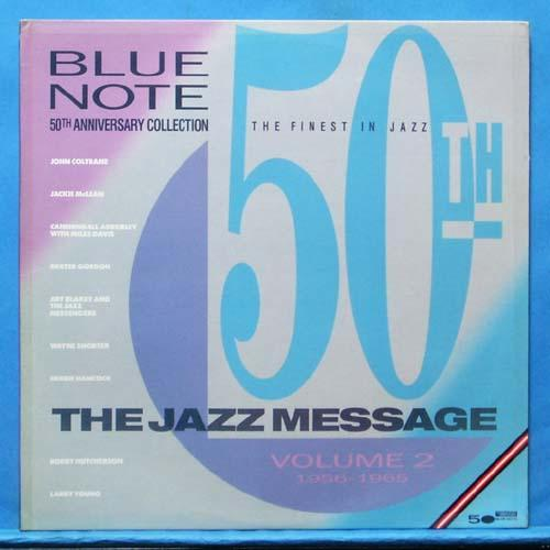 Blue Note (the Jazz message) 2LP's