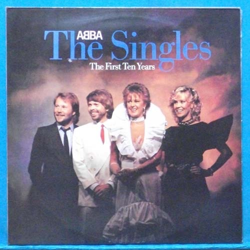 Abba the singles (the first ten years) 2LP's