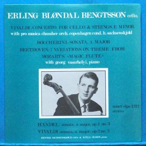 Bengtsson, Vivaldi/Boccherini/Beethoven cello works (초반)