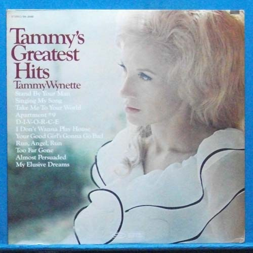 Tammy Wynette greatest hits (stand by your man) 미국 초반