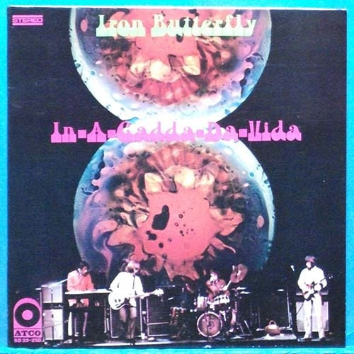 Iron Butterfly (in-a-gadda-da-vida) yellow lbl pressing 초반