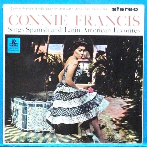 Connie Francis sings Spanish & Latin American favorites (영국 스테레오 초반)
