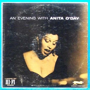 An evening with Anita O'day ( 미국 모노 초반)