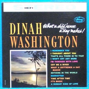 Dinah Washington (what a difference a day makes!)