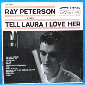 Ray Peterson (Tell Laura I love her) 미국 스테레오 초반