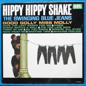 the Swinging Blue Jeans (Hippy hippy shake) 미국 모노 초반 미개봉
