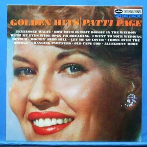 Patti Page golden hits (미개봉)