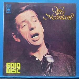 Yves Montand gold disc