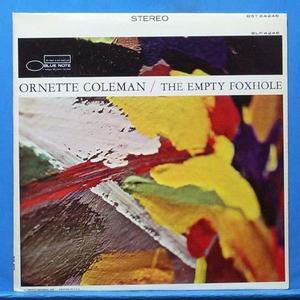 Ornette Coleman (the empty foxhole)