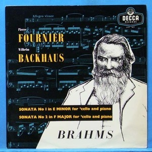 Fournier, Brahms cello sonatas