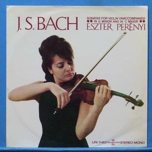 Eszter Perenyi, Bach sonatas for violin solo