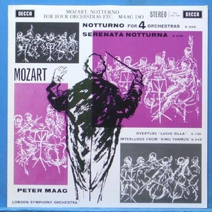 Peter Maag, Mozart music