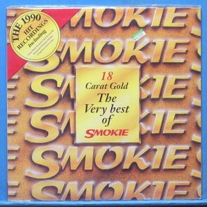 18 carat gold of Smokie (미개봉)