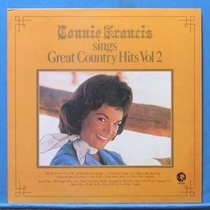 Connie Francis sings great country hits (wishing it was you)