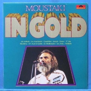 Moustaki in gold