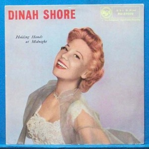 Dinah Shore (holding hands at midnight)