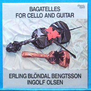 Bengtsson, bagatelles for cello and guitar