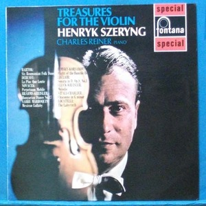 Henryk Szeryng (treasures for the violin)