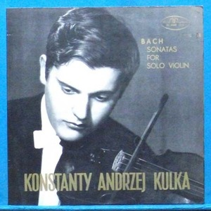Kulka, Bach sonatas for solo violin
