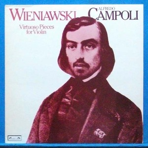 Campoli, Wieniawski virtuoso pieces for violin