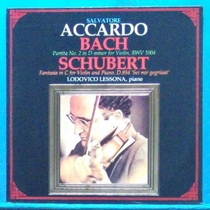 Accardo, Bach/Schubert violin pierces