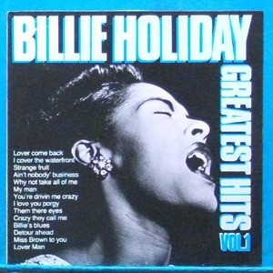 Billy Holiday greatest hits Vol.1