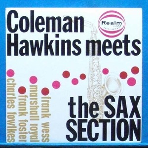 Coleman Hawkins meets the sax sextion