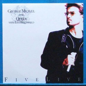 George Michael and Queen with Lisa Stansfield (Five live) 미개봉