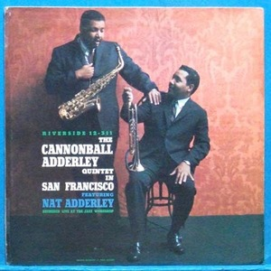 the Cannonball Adderley Quintet in San Francisco (모노 초반)