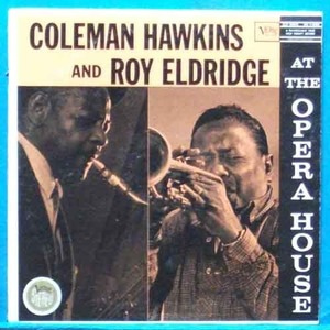 Coleman Hawkins & Roy Eldridge at the Opera House