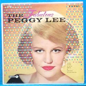 the fabulous Peggy Lee (black coffee)