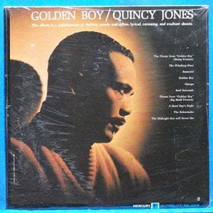 Quincy Jones (golden boy) 모노 초반 미개봉