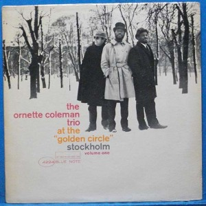 the Ornette Coleman Trio at the Golden Circle Stockholm (미국 모노 초반)